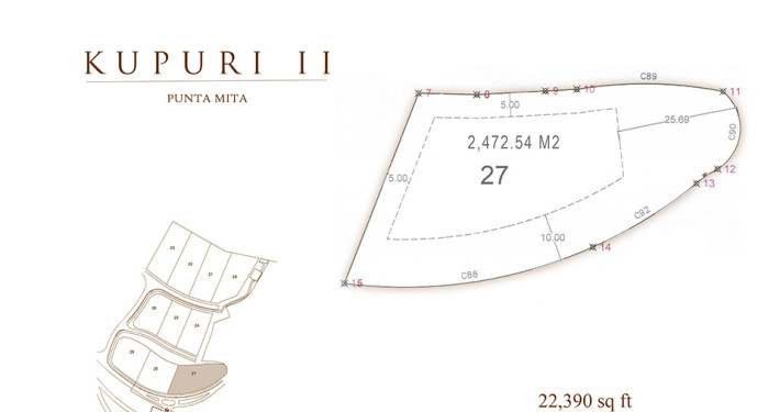 Kupuri - Lot 27 at the Punta Mita Resort, Mexico