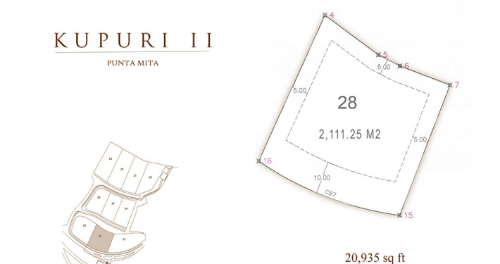 Kupuri - Lot 28 at the Punta Mita Resort, Mexico