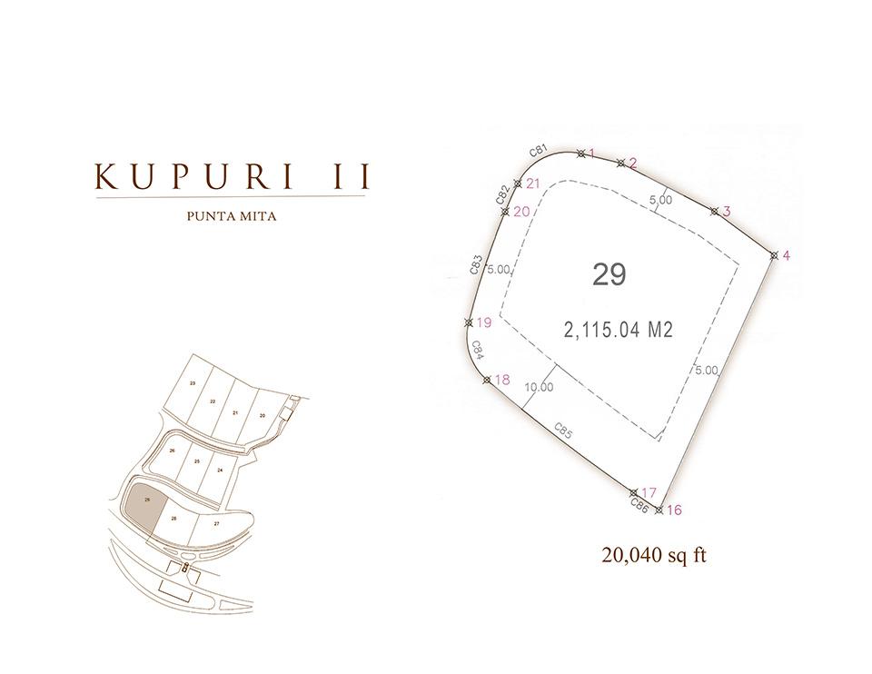 Kupuri Estate lot 29 - Punta Mita Resort, Riviera Nayarit, Mexico
