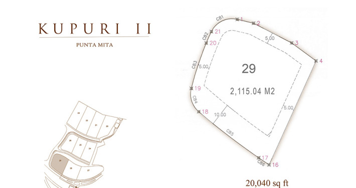 Kupuri - Lot 29 at the Punta Mita Resort, Mexico