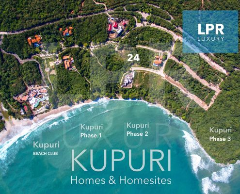 Kupuri Estate 24 - Luxury homesite building lot for sale at the ultra exclusive Punta Mita Resort, Riviera Nayarit, Mexico