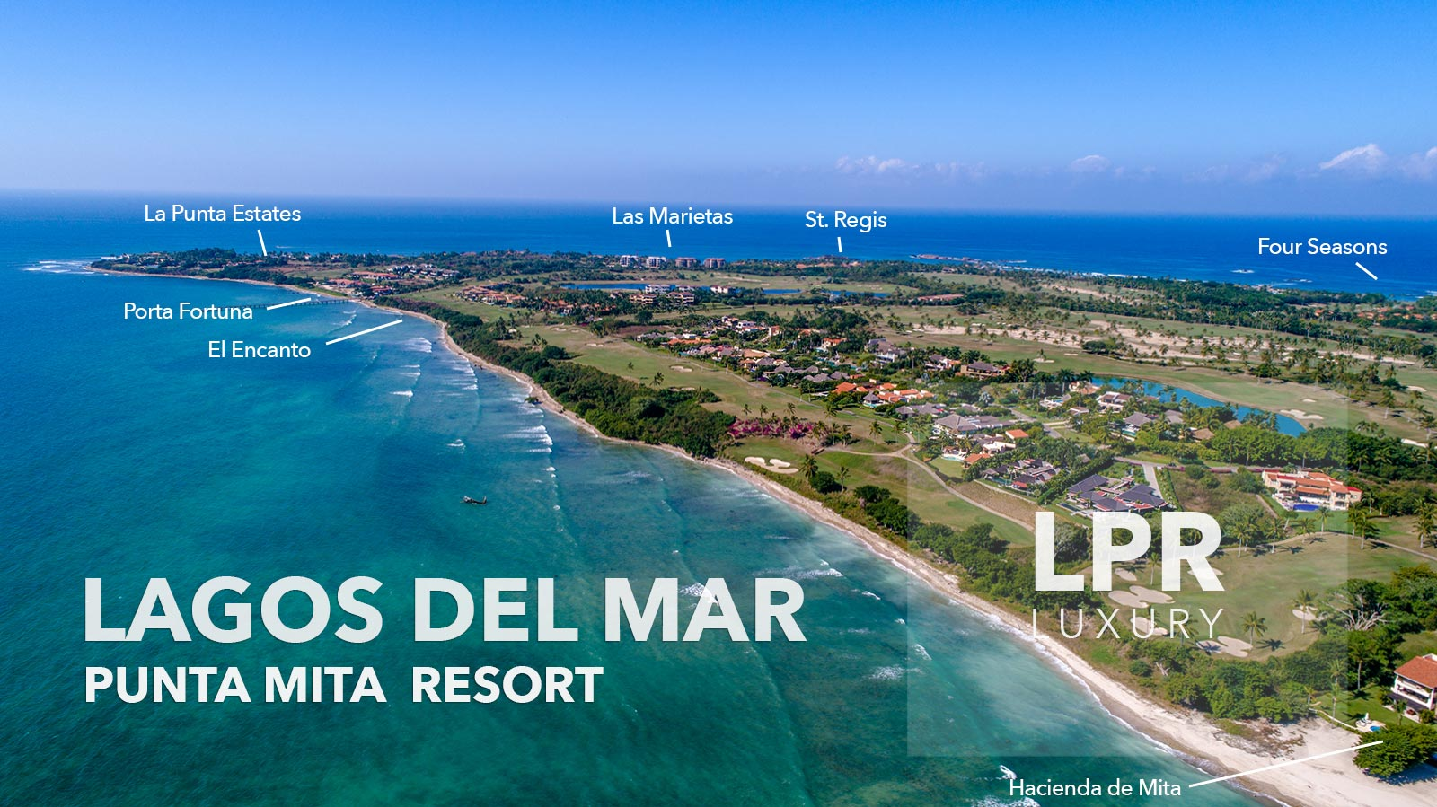 Explore the luxury golf villas of Lagos del Mar 20 at the ultra private Punta Mita Resort - Riviera Nayarit, Mexico