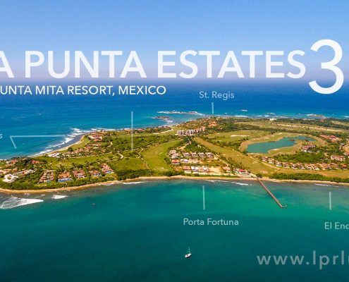 La Punta Estates 30 - Homes and Homesites - Punta Mita Real Estate - Puerto Vallarta - Mexico