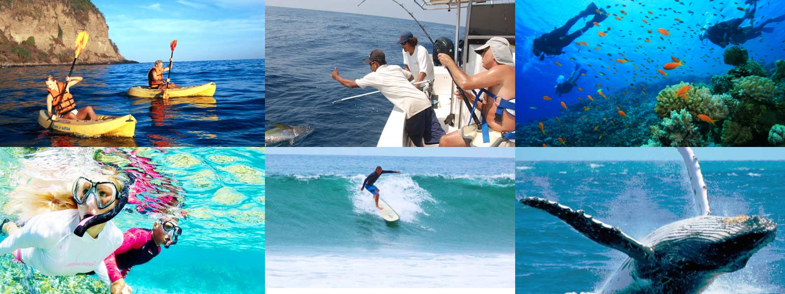 Punta Mita is much more than golf. Enjoy a world of water sports and deep surfing culture along the coastline.