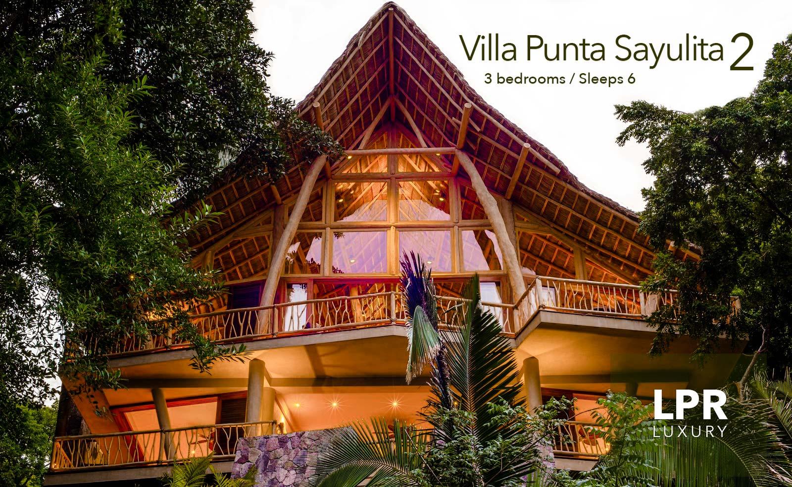 Villa Punta Sayulita 2 - Luxury jungle oceanview vacation villa for sale in Sayulita, Riviera Nayarit, Mexico