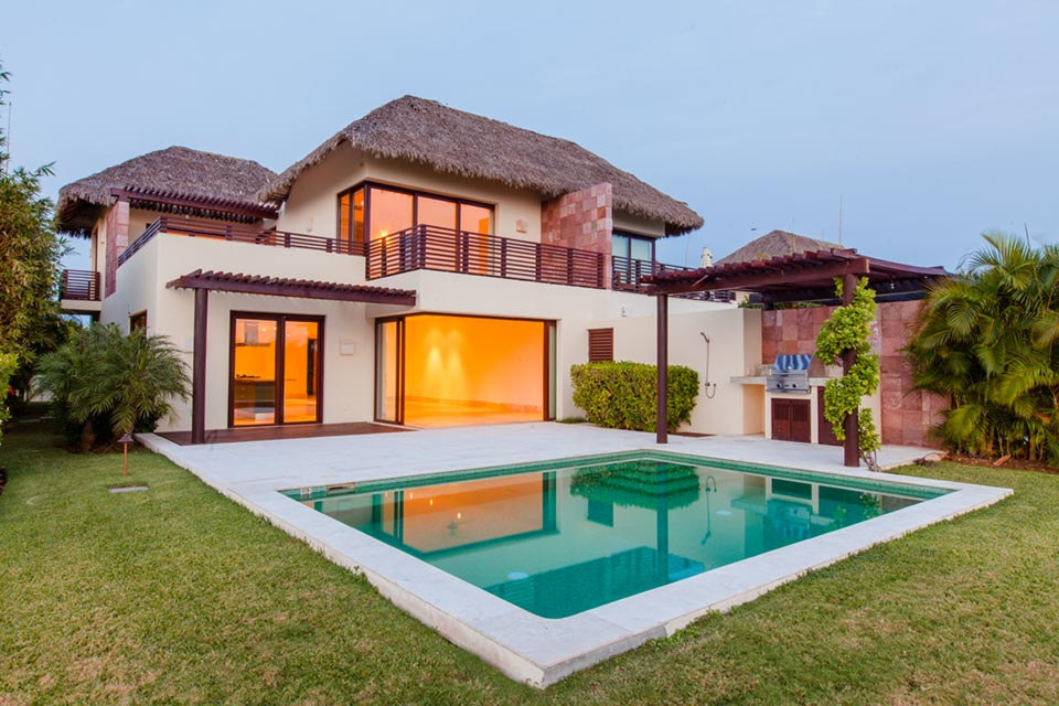 Zen Casita 11 - Luxury golf course villas for sale and rent at the Punta Mita Resort, Riviera Nayarit, Mexico