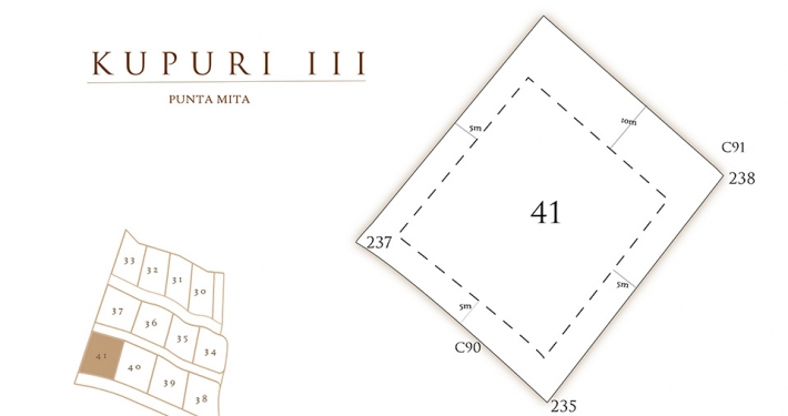 Kupuri - Lot 41 at the Punta Mita Resort, Mexico