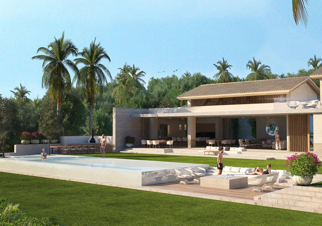 Villa Kupuri 38 - Luxury beach villa at the Punta Mita Resort, Riviera Nayarit, Mexico - Puerto Vallarta luxury real estate and vacation rentals