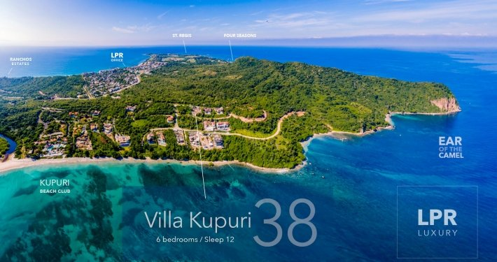 Kupuri Estates - Lot 38 - Punta Mita Resort - Luxury real estate for sale - Homesite building lots in Puerto Vallarta, Mexico