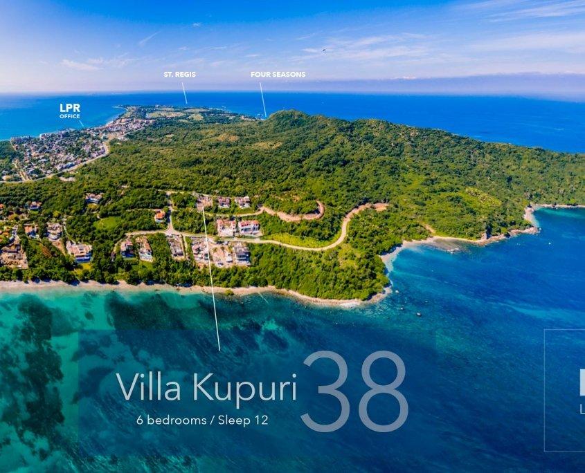 Kupuri Estates - Lot 38 - Punta Mita Resort - Luxury real estate for sale - Homesite building lots in Puerto Vallarta, Mexico