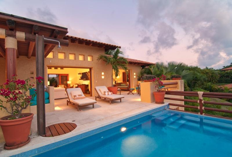 Villa las palmas punta mita 22 punta mita mexico luxury rentals and property sales - Casa del mar las palmas ...