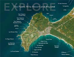 Explore the Punta Mita Map - Resort Master Plan - North Shore Puerto Vallarta | Riviera Nayarit - Mexico