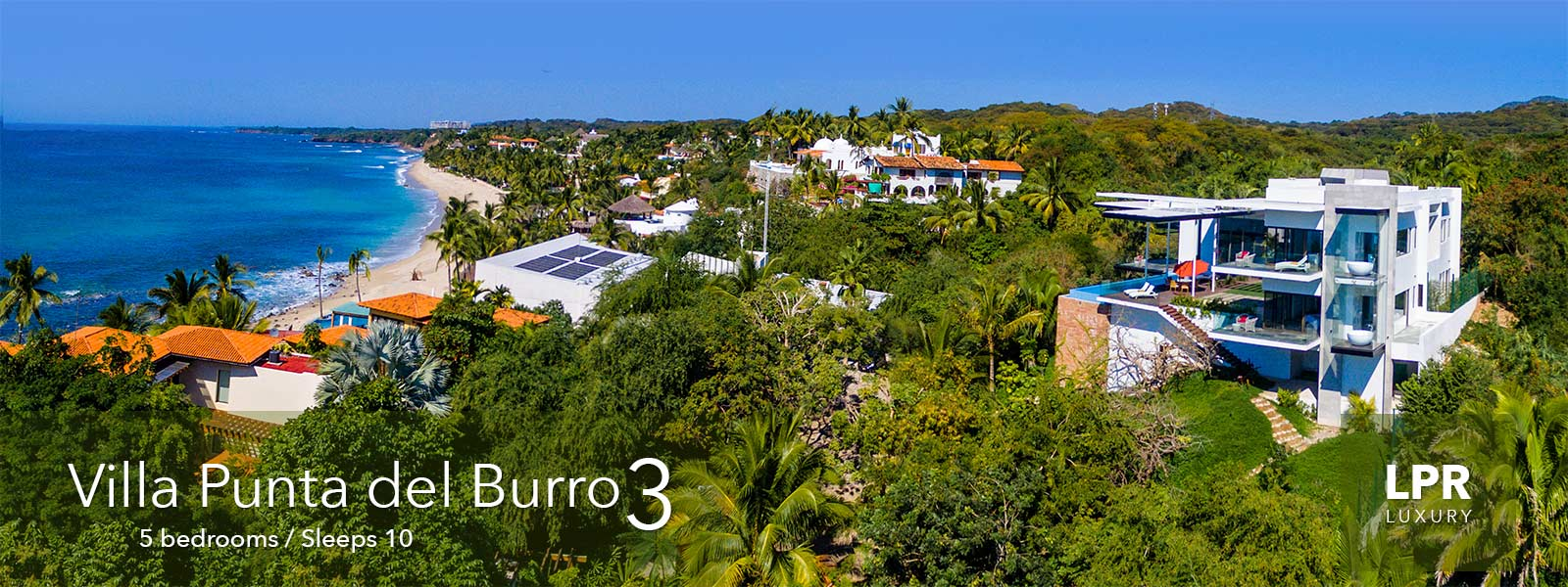 Villa Punta del Burro 3 - Luxury Punta de Mita Real Estate and Vacation Rentals - Riviera Nayarit, Mexico