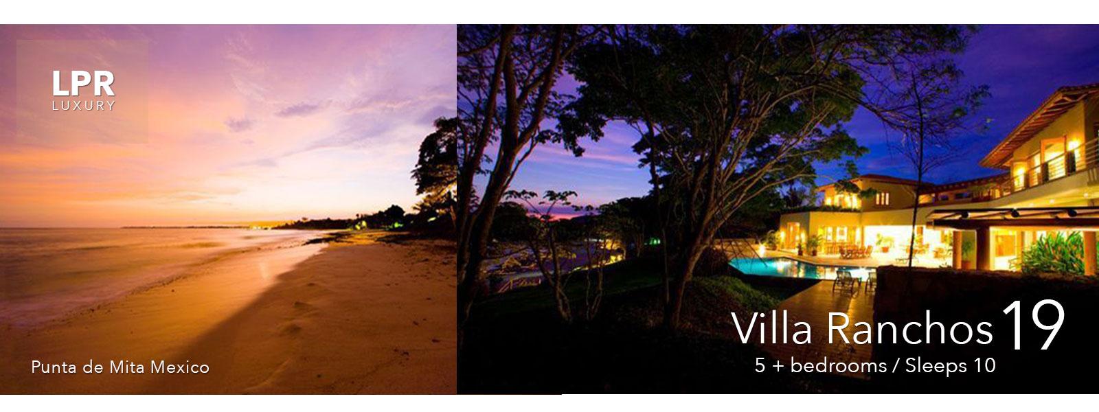 Villa Ranchos 19 - Luxury Vacation Rental Villa at Punta Mita Mexico Resort