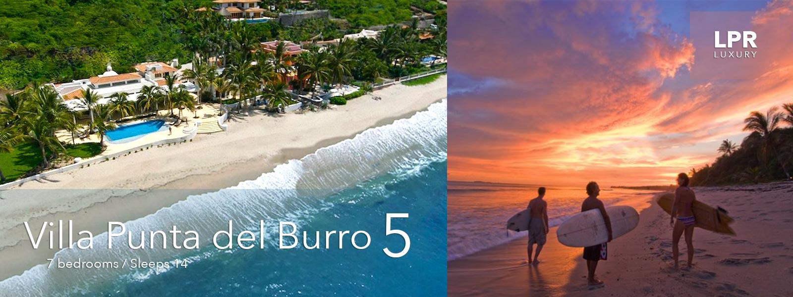 Villa Punta del Burro 5 - North Shore Puerto Vallarta Real Estate - Mexico