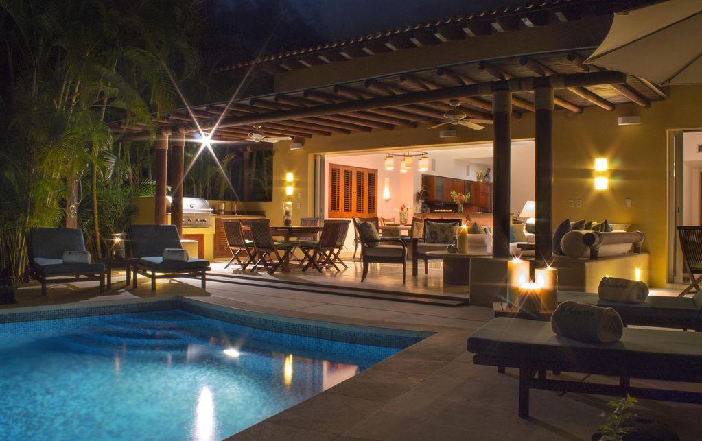 Villa Las Palmas 1 - Ocean view golf course villa at the Punta Mita Resort, Riviera Nayarit, Mexico - Vacation rentals and real estate