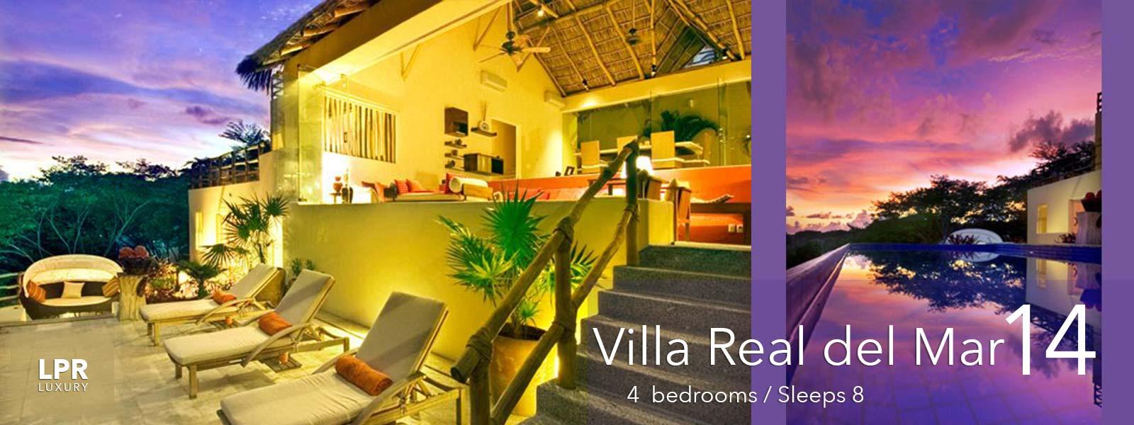 Villa Real del Mar 14 - Luxury vacation rental villa for rent and sale in Punta de Mita.