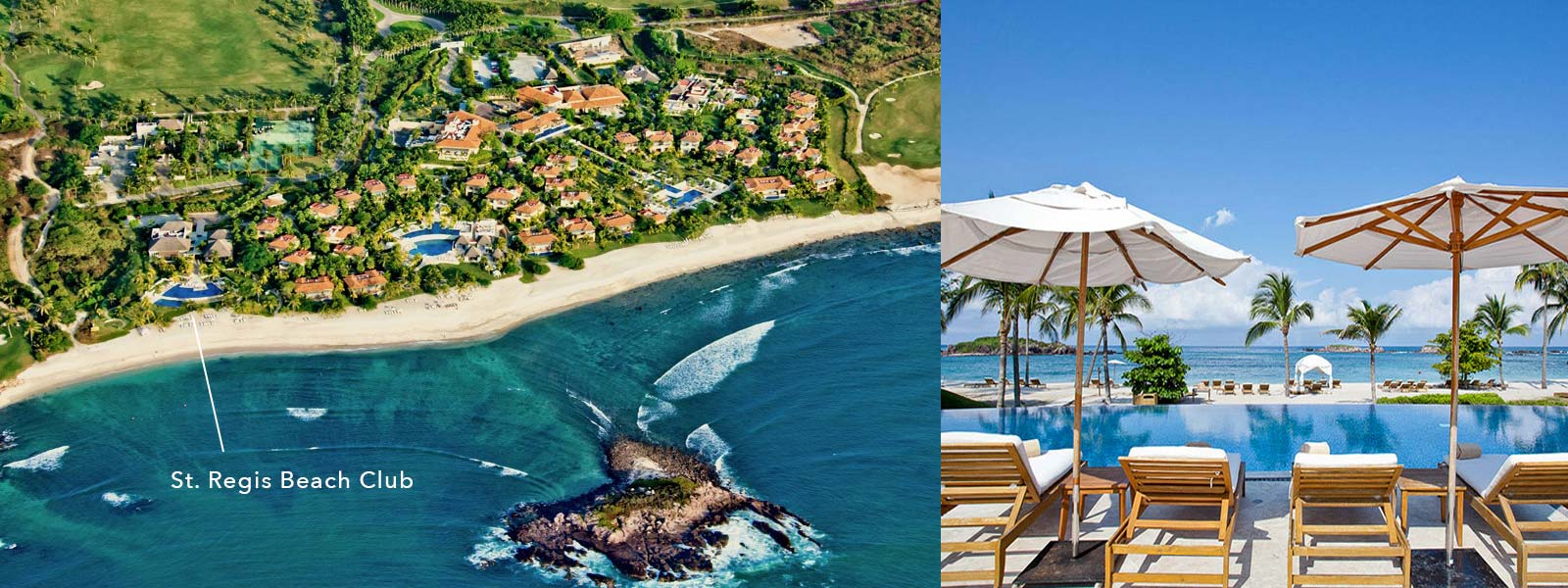 The St. Regis Beach Club at the Punta Mita Resort, Riviera Nayarit, Mexico