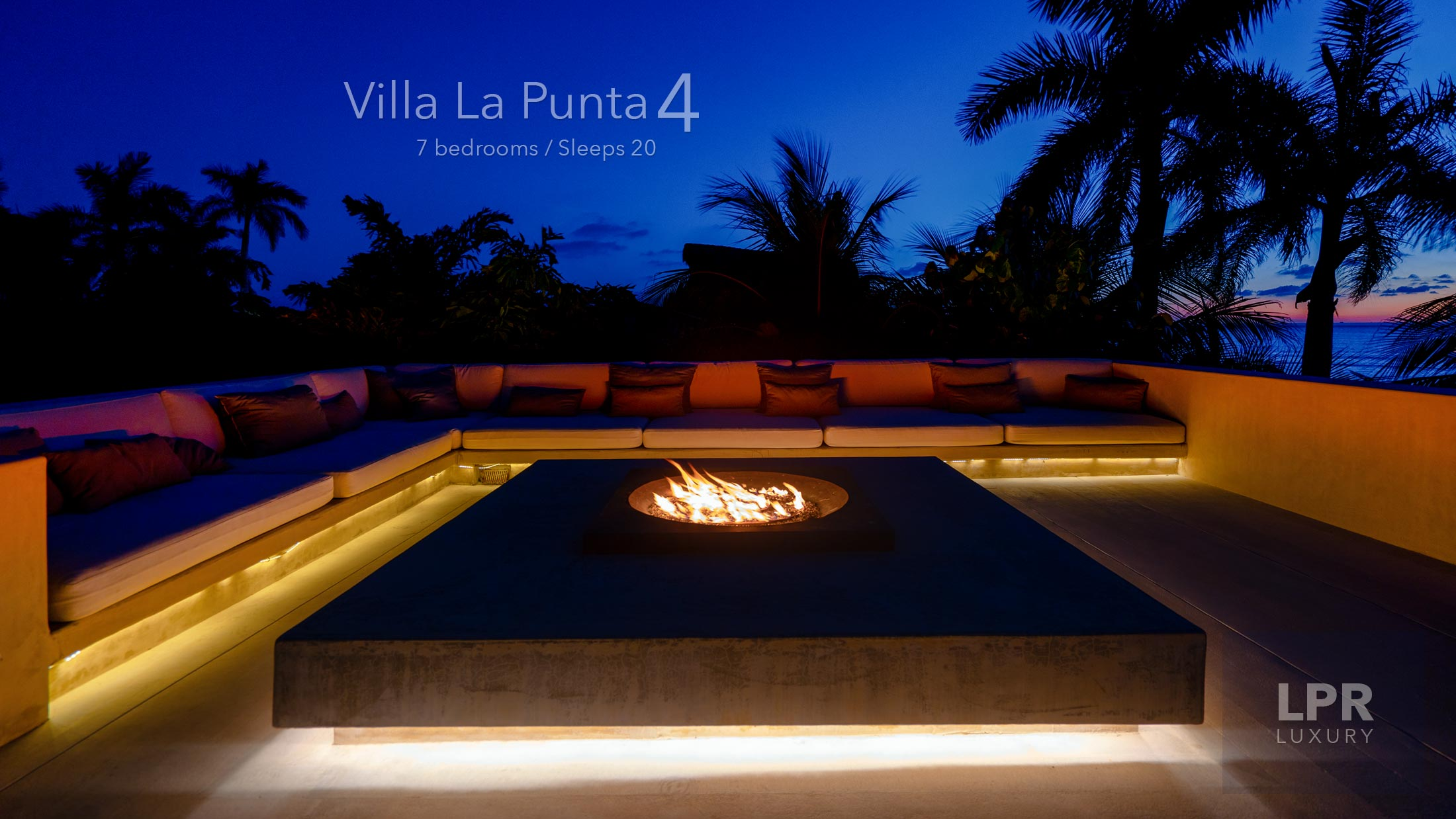 Villa La Punta 4 - Ultra luxury, ultra private vacation rental villa estate at the exclusive Punta Mita Resort, Riviera Nayarit, Mexico