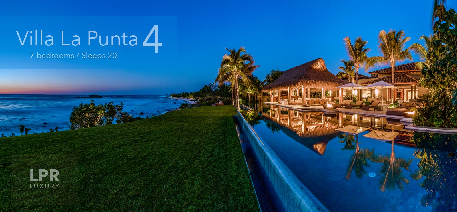 Villa La Punta 4 - Luxury Vacation Rental VIlla at La Punta Estates - Punta Mita Resort Mexico