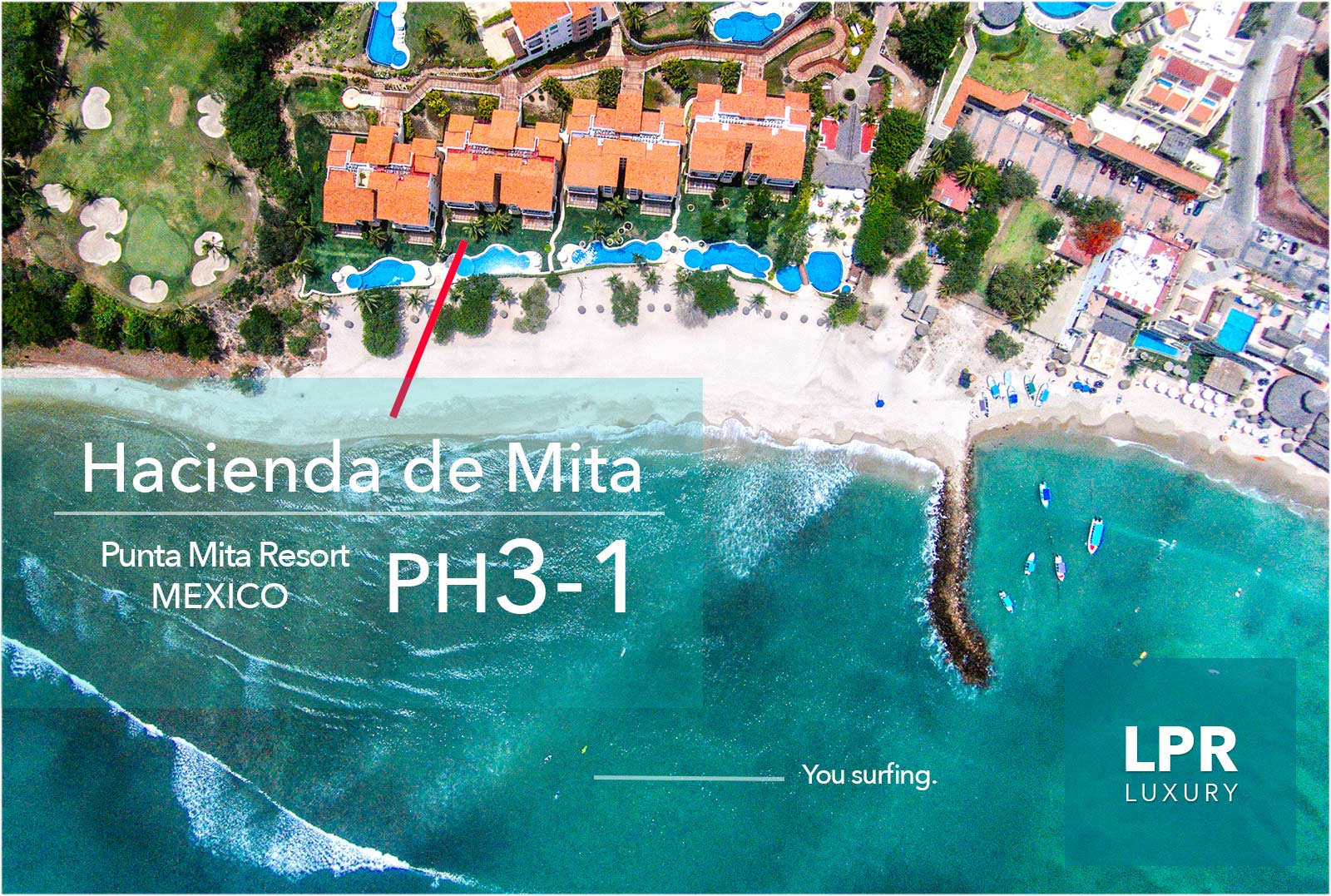 Hacienda de Mita Penthouse 3-1 - Punta Mita Resort - Mexico