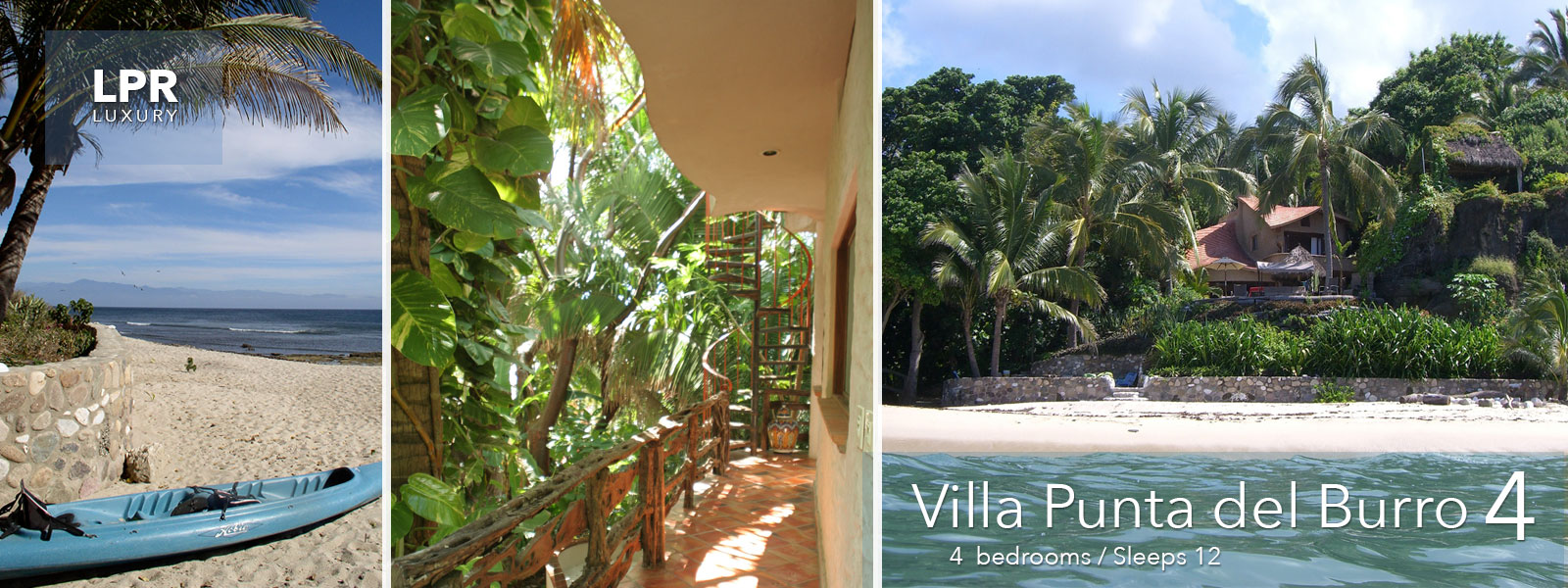 Villa Punta del Burro 4 - North Shore Puerto Vallarta - Punta de Mita - Mexico Real Estate and Rentals