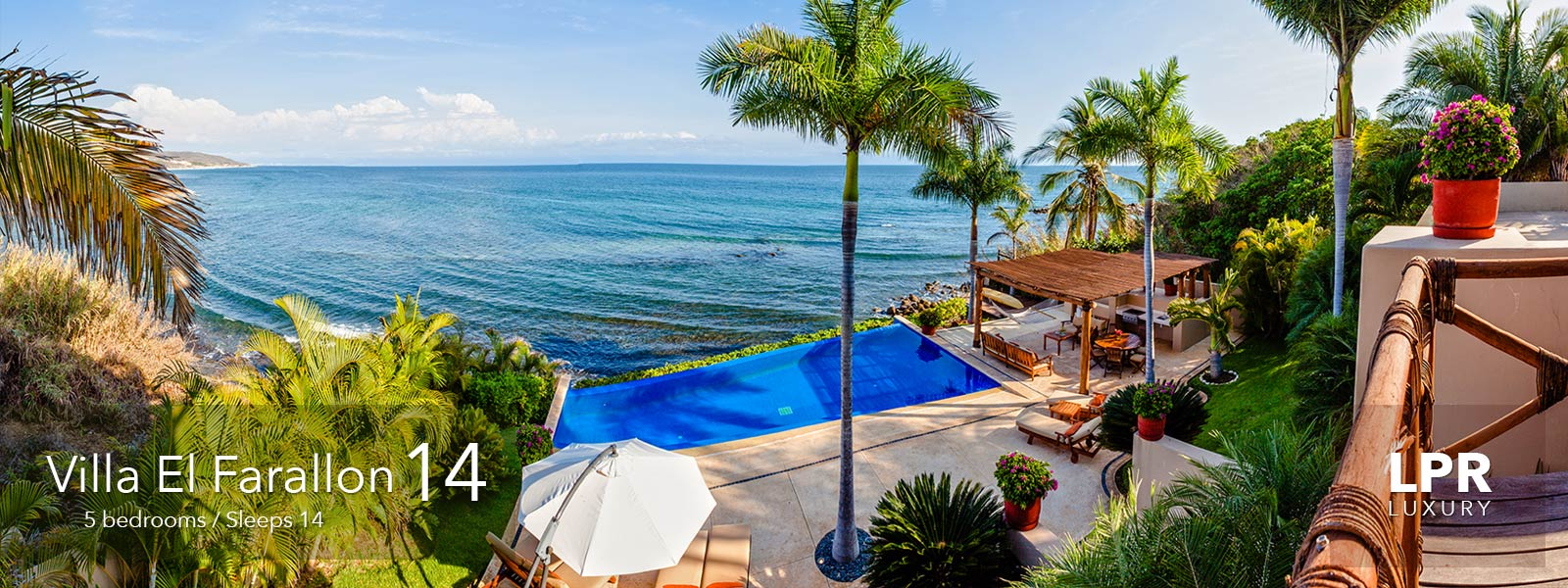 Villa el Farallon 14 - Punta de Mita Puerto Vallarta luxury real estate - Villa for sale and rent