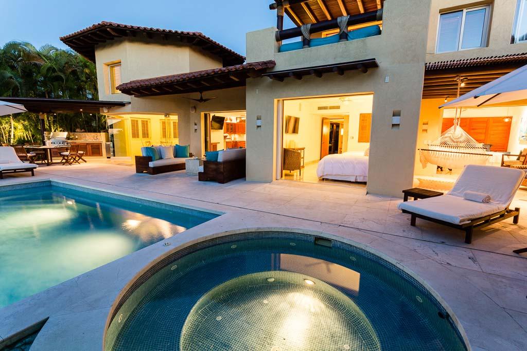 Villa las palmas 3 luxury golf course vacation rental villa - Casa del mar las palmas ...