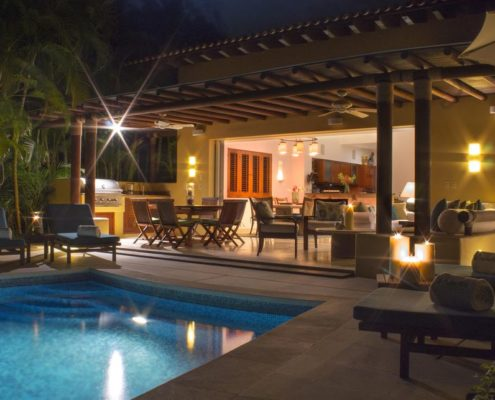 Villa Las Palmas 1 at the Punta Mita Resort, Riviera Nayarit, Mexico Luxury Real Estate and Vacation Rentals