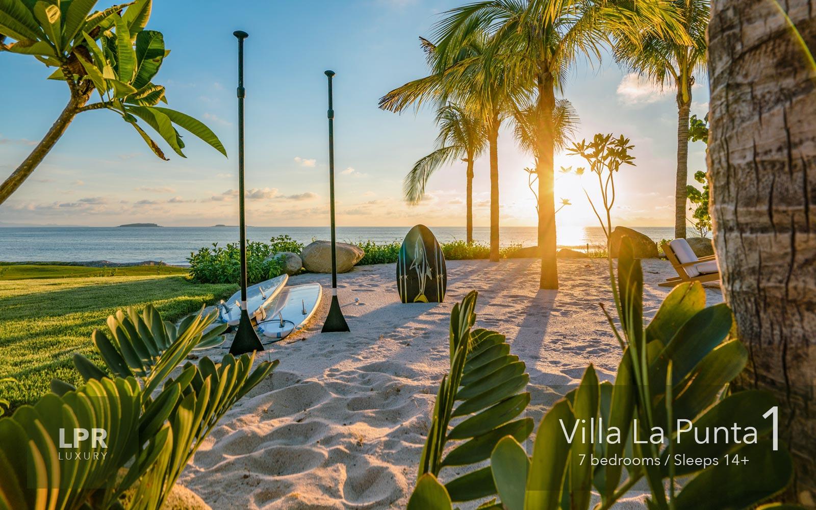 Villa La Punta 1 - Punta Mita Resort Ultra Luxury Vacation Villa rentals in Riviera Nayarit, Mexico