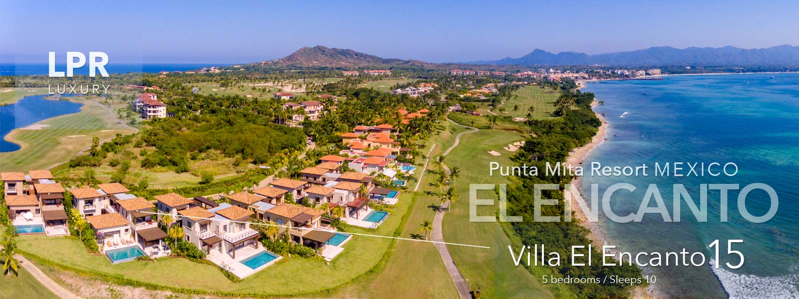 Villa El Encanto 15 - Luxury Punta Mita Resort Vacation Rental Villa