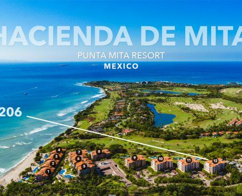Hacienda de Mita 1206 - Punta Mit Resort luxury vacation rentals and real estate - Mexico