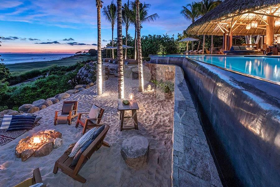 Villa La Punta 15 - Ultra luxury beachfront vacation rental villa at the exclusive Punta Mita Resort, Riviera Nayarit, Mexico