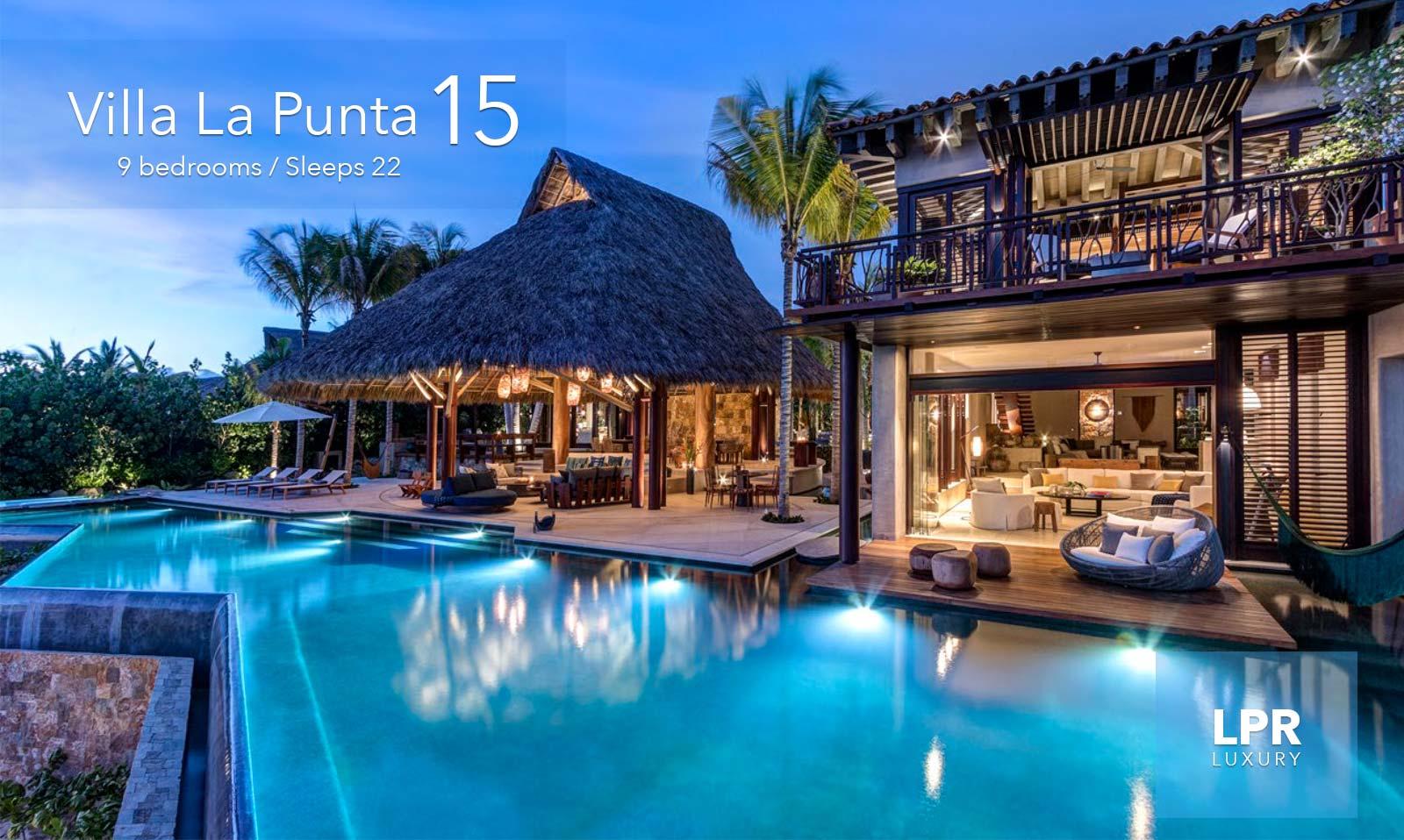 villa la punta 15 ultra luxury beachfront vacation rental villa at the exclusive punta mita