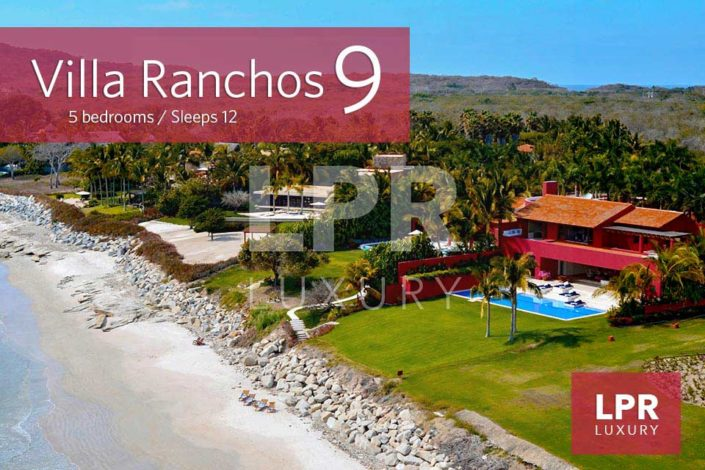 Villa Rancho 9 – Luxury Beachfront Vacation Villa at the exclusive Punta Mita Resort, Nayarit, Mexico