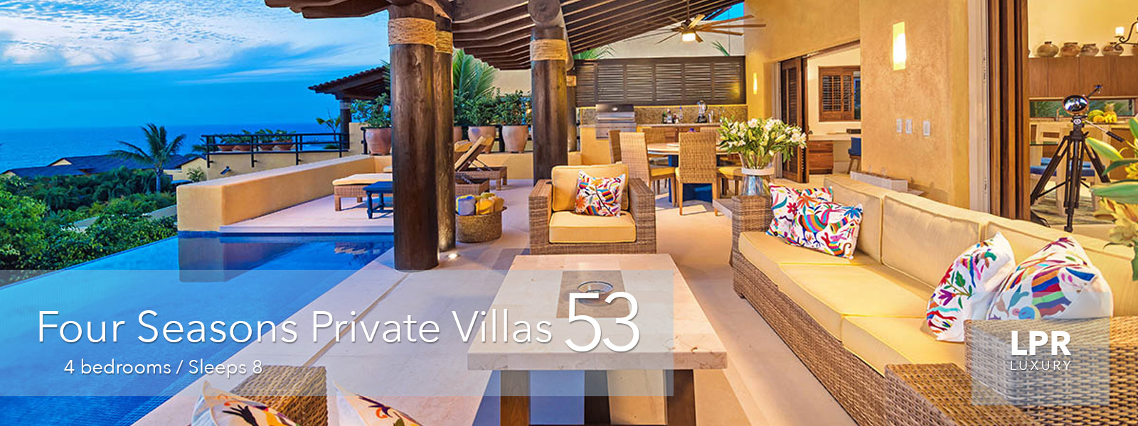 Four Seasons Private Villa 53 - Luxury Punta Mita Resort Vacation rental villa - Four Seasons Resort, Punta Mita Mexico