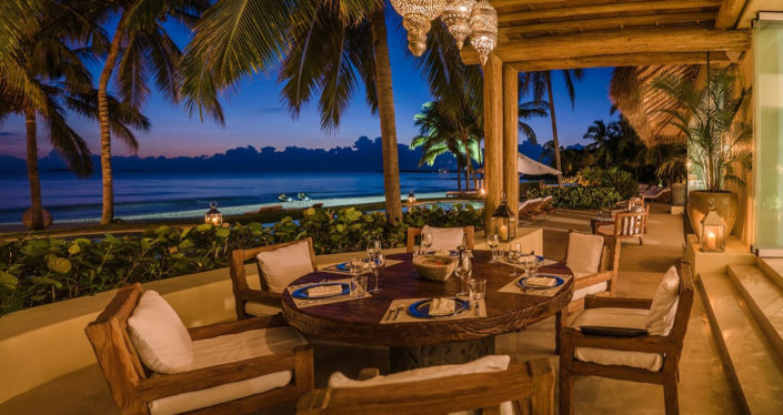 Villa Punta Mita 1 - The largest and most luxurious beachfront vacation rental villa in the Punta Mita Resort, Riviera Nayarit, Mexico