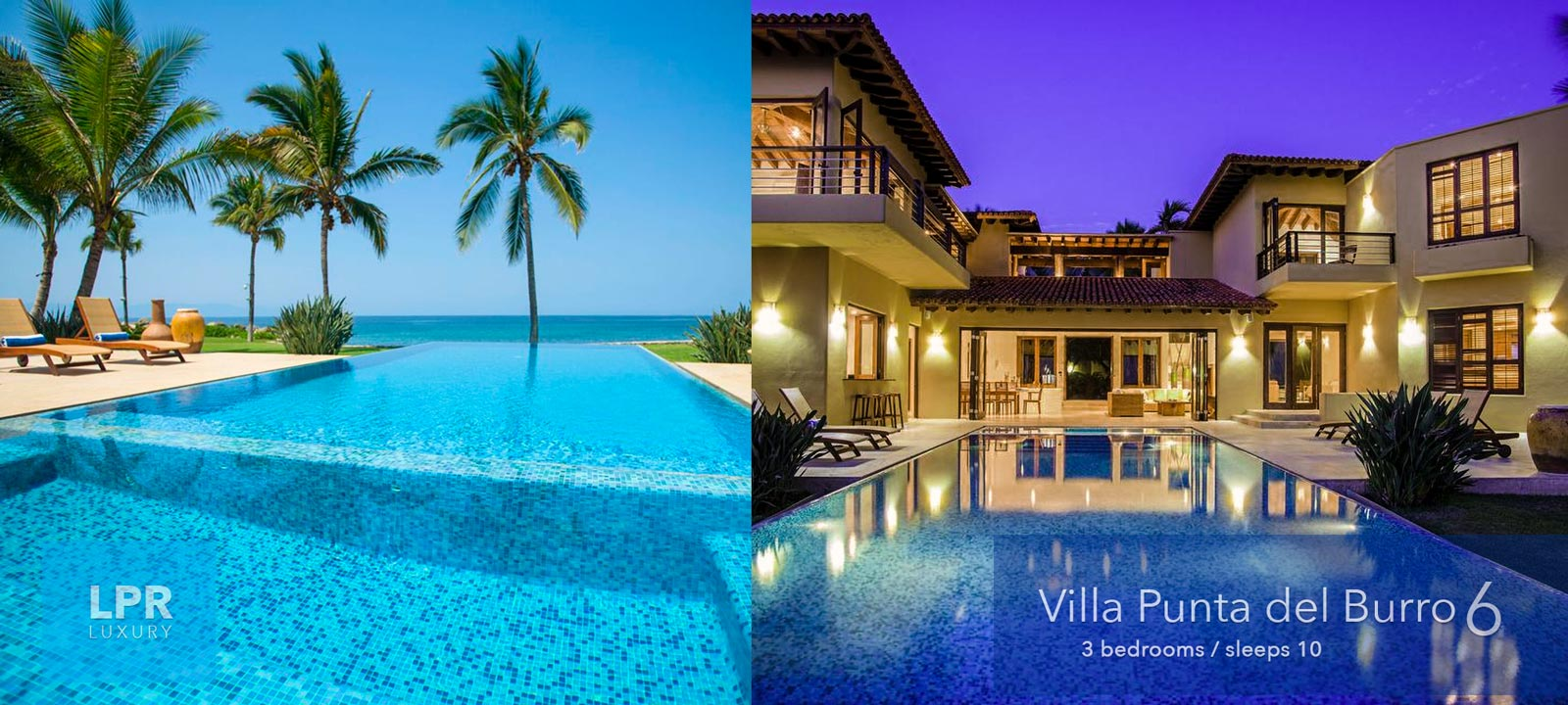 Villa Punta del Buro 6 - Beachfront vacation rental villa on Punta del Burro surf beach - Punta de Mita, North shore Puerto Vallarta, Riviera Nayarit, Mexico
