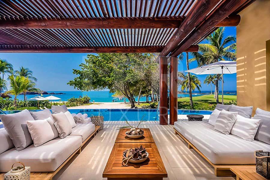 Villa St. Regis 1 - Luxury beachfront vacation rental villa next to the St. Regis hotel at the Punta Mita Resort, Riviera Nayarit, Mexico