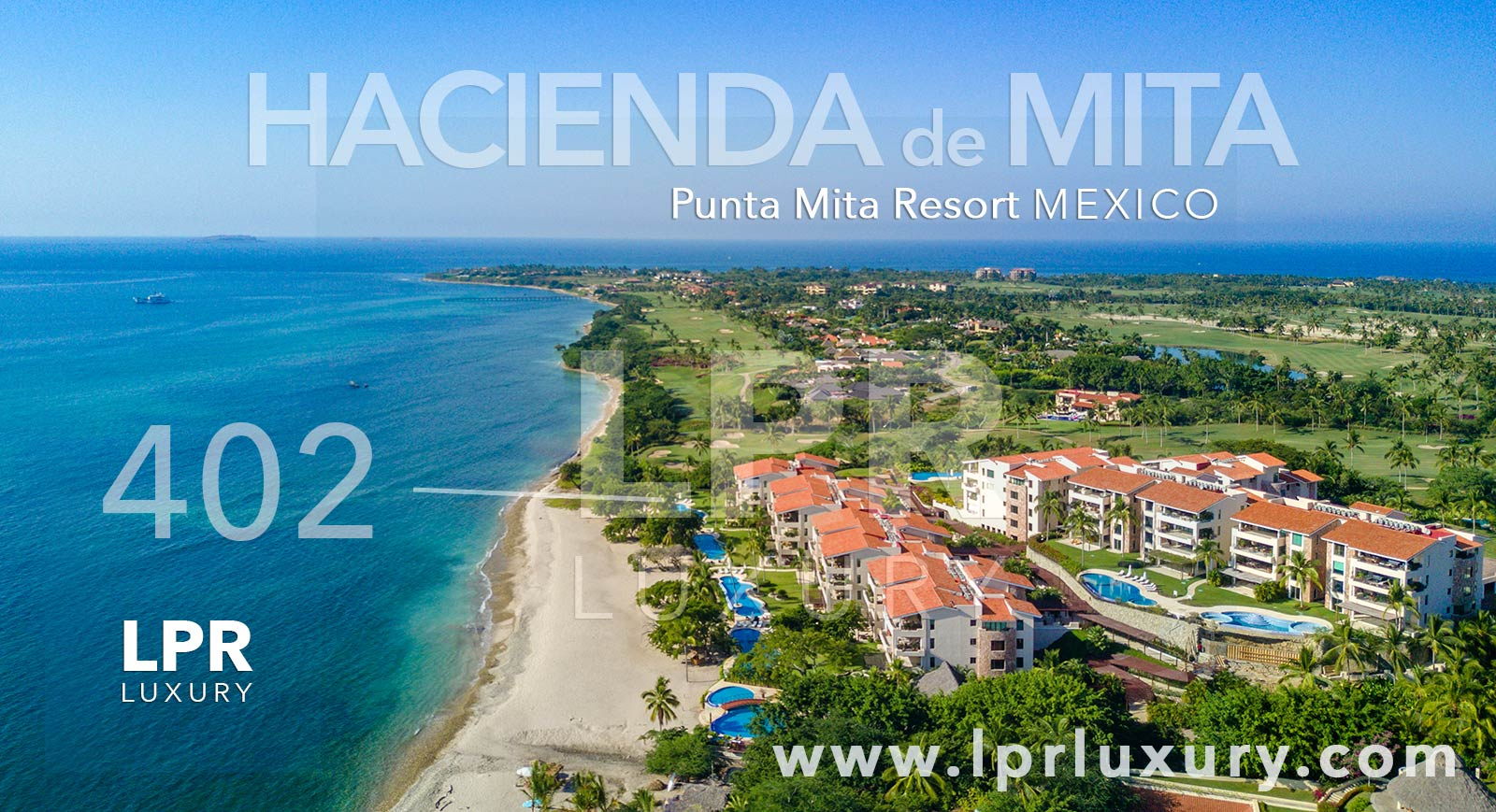 Hacienda de Mita 402 - Luxury Punta Mita Mexico condos for sale and rent
