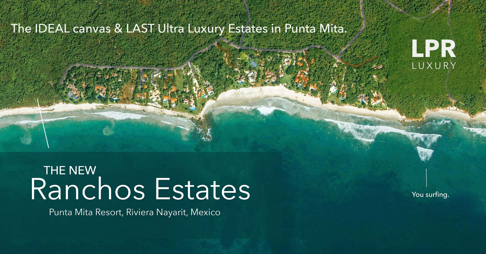 The New Ranchos Estates - The las Ultra Luxury Canvas to build your dream home.