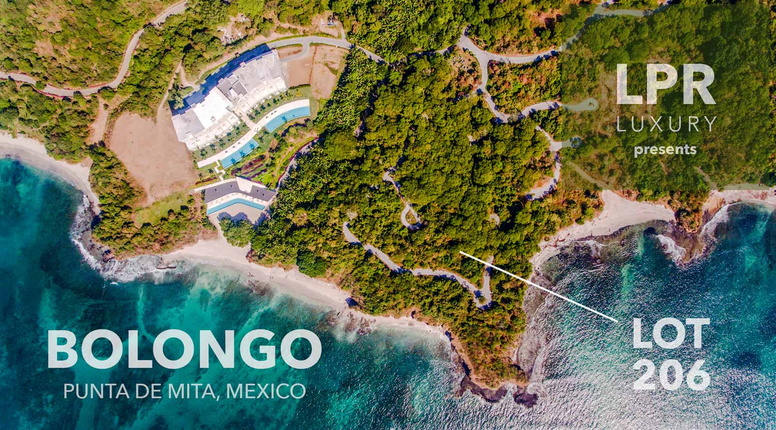 Bolongo lot 206 - Punta de Mita real estate for sale - Riviera Nayarit, Mexico