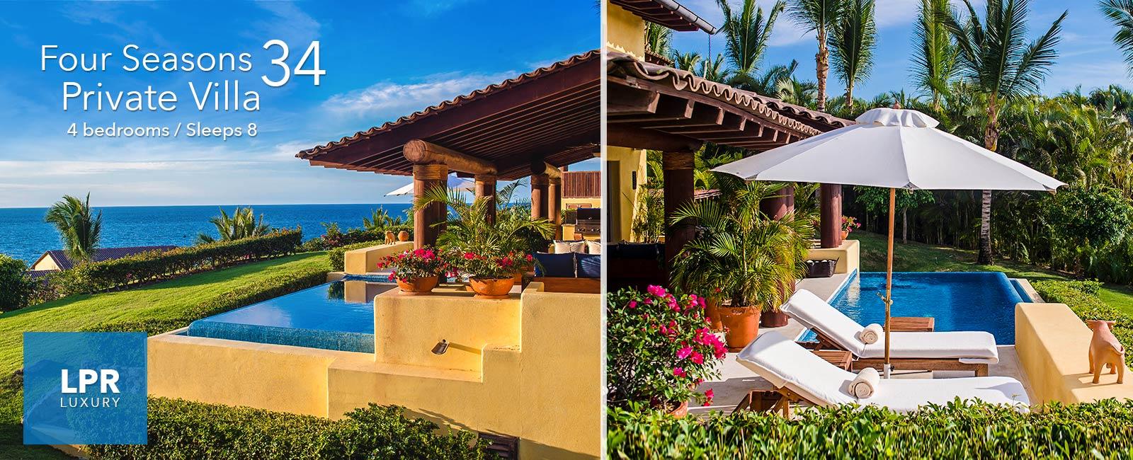 Four Seasons Private Villa 34 - Vacation rental at the Four Seasons Punta Mita Mexico
