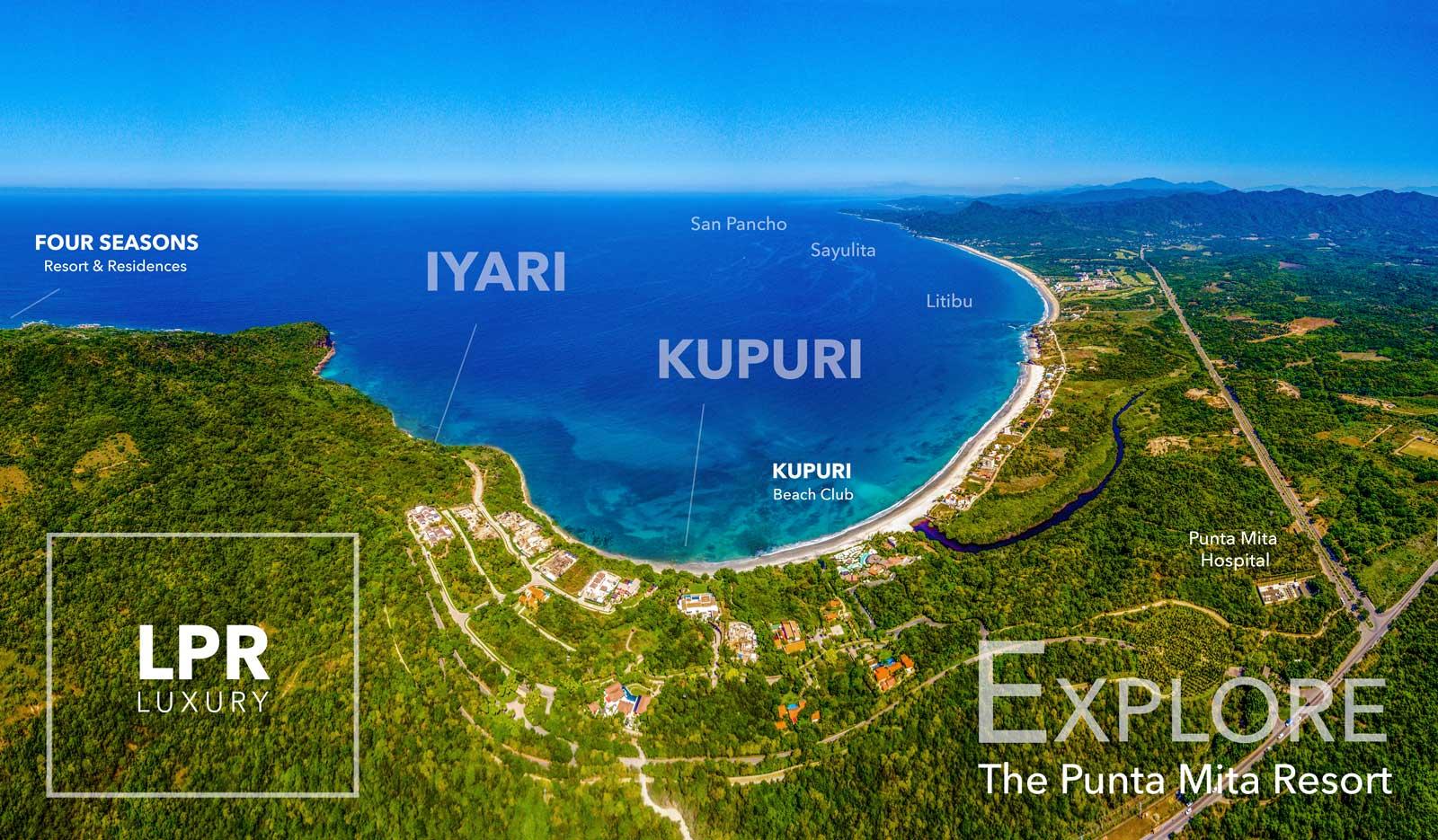 Kupuri Estates at the exclusive Punta Mita Resort, Mexico