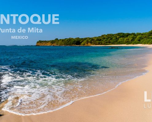 Pontoque Beach - Development parcel - Punta de Mita, Riviera Nayarit land for sale in Mexico