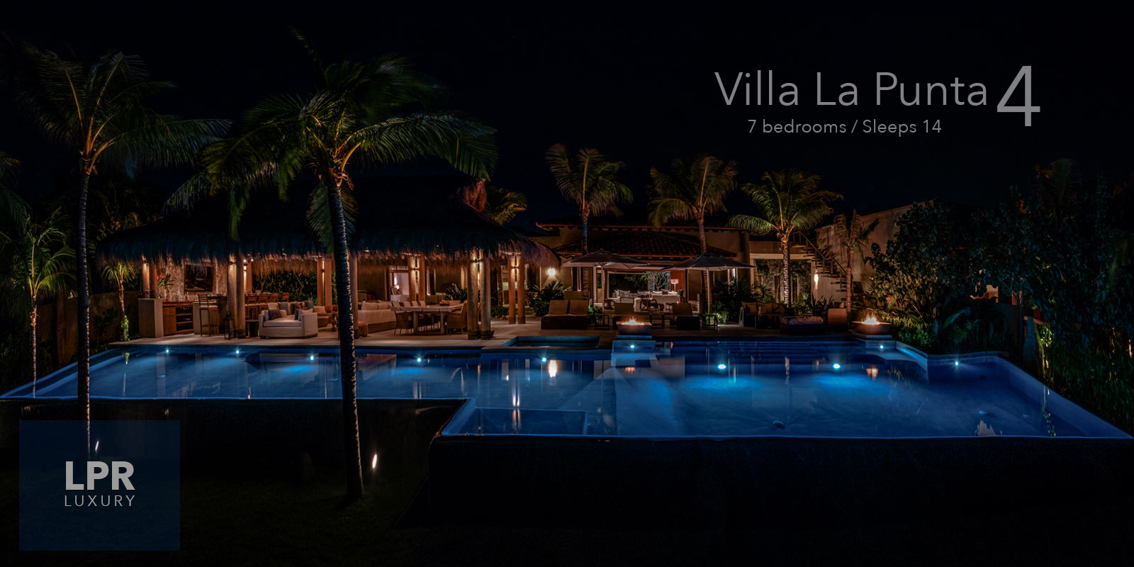 Villa La Punta 4 - Ultra luxury, ultra private vacation rental villa estate at the exclusive Punta Mita Resort, Riviera Nayarit, Mexico