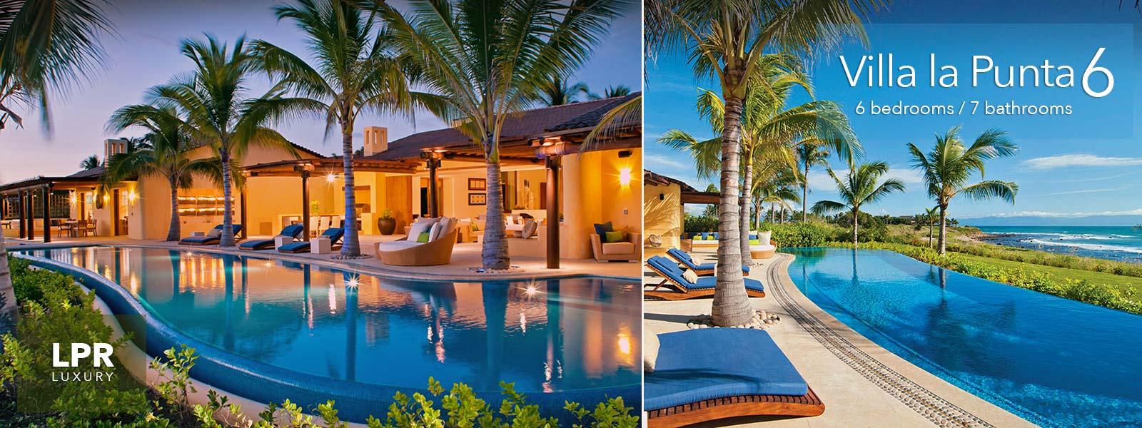 Villa La Punta 6 - Luxury real estate and vacation rentals at the Punta Mita Resort, Mexico