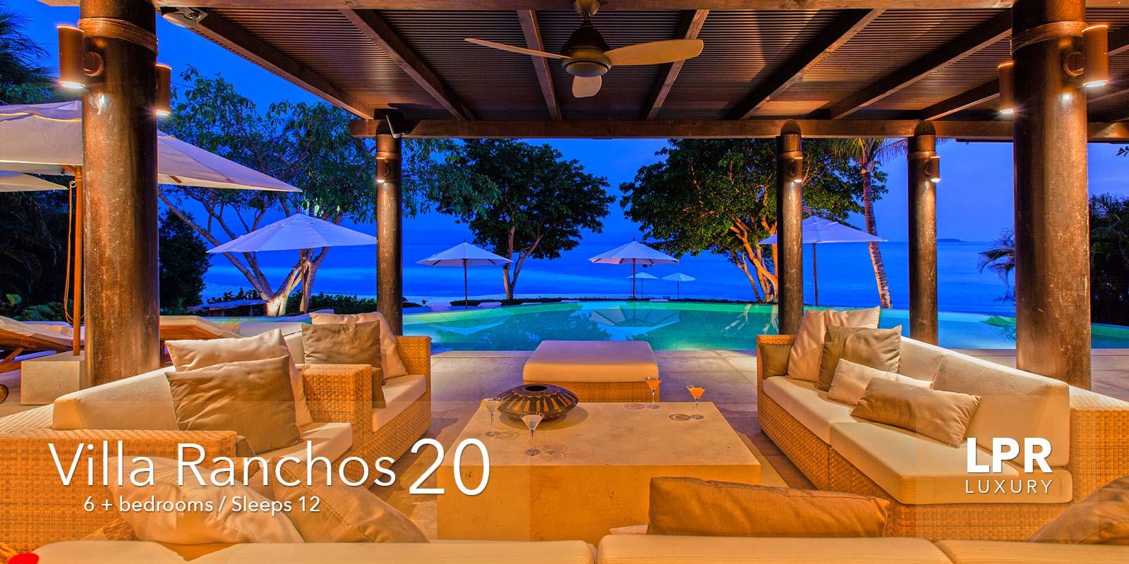 Villa Ranchos 20 - on the exquisitely private Ranchos beach at the Punta Mita Resort, Riviera Nayarit, Mexico