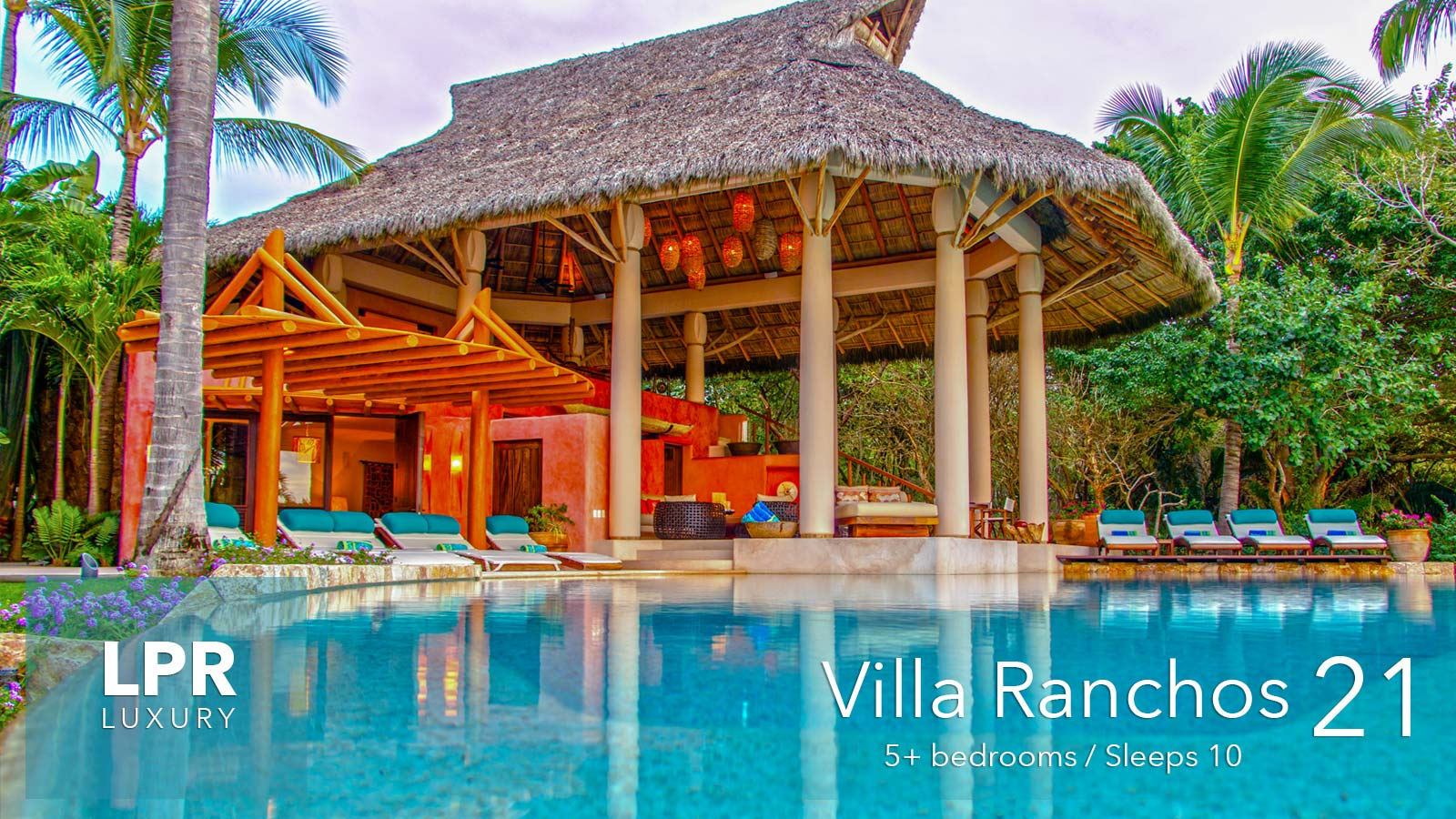 Villa Ranchos 21 - on the exquisitely private Ranchos beach at the Punta Mita Resort, Riviera Nayarit, Mexico