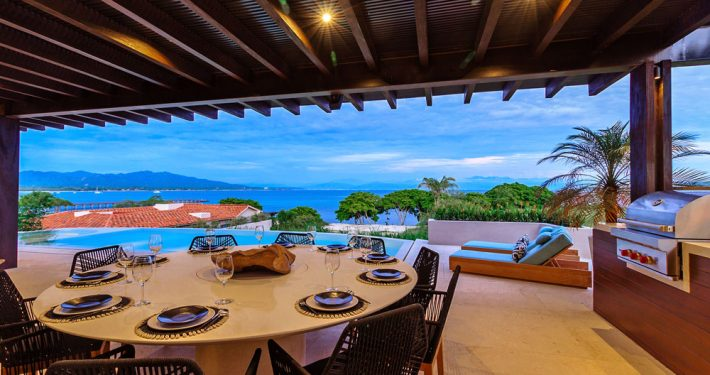 Villa Porta Fortuna - Luxury oceanfront vacation rental villa - Real estate for sale in Punta Mita